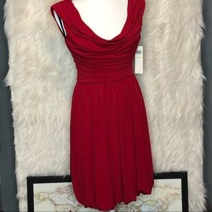 Maggy London formal scarlet dress size 4 NWT